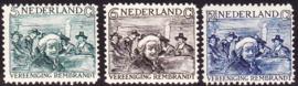NVPH 229-231 Rembrandtzegels 1930 Postfris cataloguswaarde 80.00