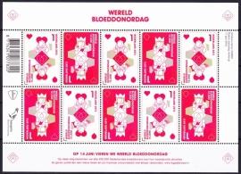 NVPH V3067-3068 Wereld Bloeddonordag Postfris  A-0508