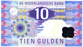 10 Gulden bankbiljet 1997 kwaliteit  UNC met drukkkersfoutje