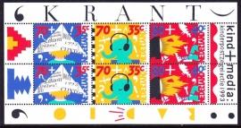 NVPH 1578 Kinderzegels 1993  Postfris