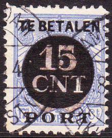 Postpakket-verrekenzegel PV2c gebruikt Cataloguswaarde 90.00 LEES