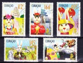 NVPH    14-18 Jaar van het konijn Curacao 2011 Gestempeld E-2793
