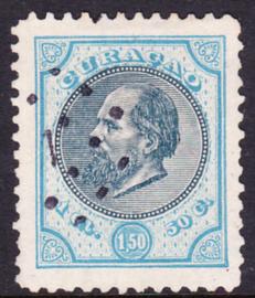NVPH  11 Koning Willem III Gebruikt Cataloguswaarde: 135.00