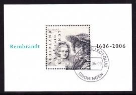 NVPH 2434 Rembrandt  Gebruikt (filatelie)  CW 5.00 E-2530