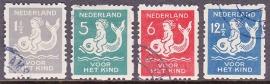 NVPH R82/85 Roltanding Gebruikt Cataloguswaarde 30.00  E-2004