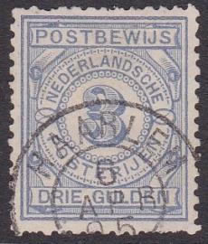 NVPH PW4 Postbewijs  gebruikt Cataloguswaarde: 110,00  E-4678 Lees tekst