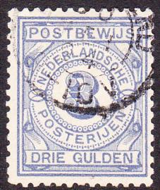 NVPH PW4 Postbewijs  gebruikt Cataloguswaarde: 110,00