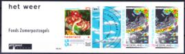 Postzegelboekje 40 met snijlijn rechts boven  Postfris  ONBEKEND IN DE NVPH