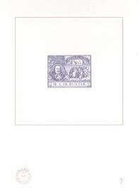 NVPH BD5 Blauwdruk  2007 Cataloguswaarde 5,00