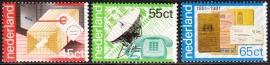 NVPH  1220-1222  100 jaar PTT Diensten  Postfris
