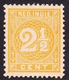 NVPH 19 Cijferzegel Ongebruikt cataloguswaarde: 1.50  E-2164