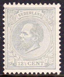 NVPH   22 Koning Willem III Ongebruikt  cataloguswaarde 150.00 E-2105