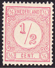 NVPH  30 Cijfer Postfris Cataloguswaarde 50.00