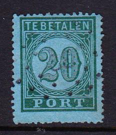 NVPH P4 Port 4 gebruikt cataloguswaarde 30,00