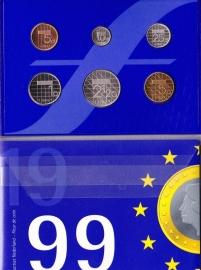 Jaarset 1999 Koninklijke Ned. Munt in boekvorm FDC