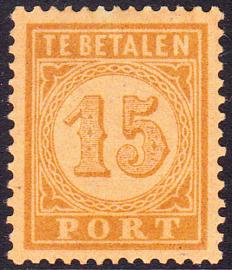 NVPH P3 Port 3 Ongebruikt cataloguswaarde 50,00