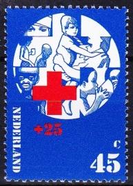 Plaatfout  1019 P Postfris  Cataloguswaarde 25.00  E-2625