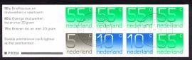 Postzegelboekje 33A Gestempeld (filatelie)
