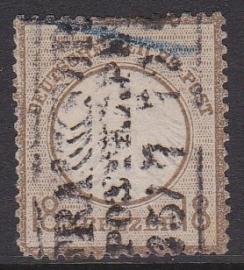 Mi    11 Freimarken: Adler mit kleinem brustschild Gebruikt / Used Cataloguswaarde: 500,00 E-4695 LEES