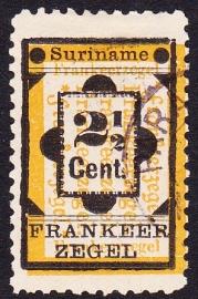 NVPH 22a Type 2 Hulpzegel Gebruikt Cataloguswaarde 20.00 E-0671