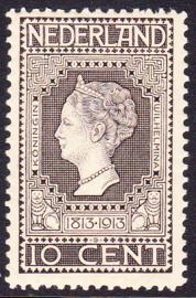 NVPH   93 Jubileum 1913 Postfris Cataloguswaarde 10.00