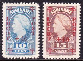 NVPH LP27-28 Rode Kruis Postfris cataloguswaarde: 6,00