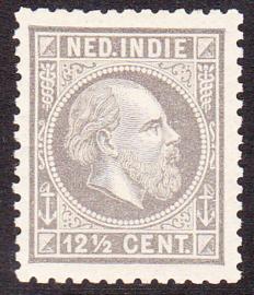 NVPH 10H Koning Willem III Postfris cataloguswaarde: 40,00
