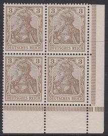 Mi 69a I plaatfout / Plattenfehler Postfris Cataloguswaarde: 40,00+++ E-0873