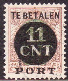 NVPH PV 1A Postpakket-verrekenzegel  gebruikt Cataloguswaarde 4.50