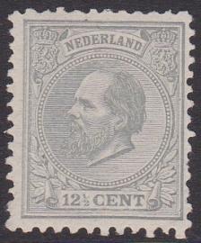 NVPH  22 Tanding J Koning Willem III Postfris Cataloguswaarde 700.00  E-4627 lees