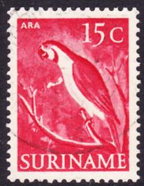 Plaatfout Suriname 304 P  Gebruikt
