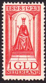 NVPH 129 Regerings Jubileum Postfris Cataloguswaarde 85.00