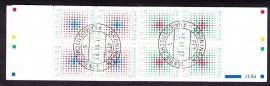 Postzegelboekje 37 Gestempeld (filatelie)