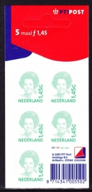 V1495b Beatrix inversie Postfris