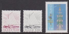 Åland 1985 Mi: 8-10  Postfris / MNH  Cataloguswaarde: 1,50 E-4303