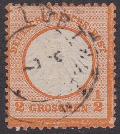 Mi   14 Freimarken: Adler mit GroBern brustschild Gebruikt / Used Cataloguswaarde: 65,00 E-2995