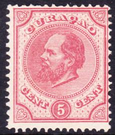NVPH   3  Koning Willem III  Cataloguswaarde 17,50