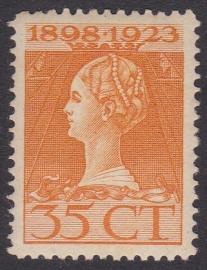 NVPH  127B Tanding 11x11,5  Ongebruikt  Cataloguswaarde 10,00  E-4645