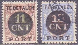 NVPH PV 1+2 Postpakket-verrekenzegel  gebruikt Cataloguswaarde 64.50  E-2460