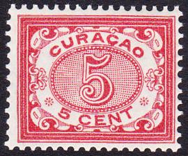 NVPH   33 Cijfer Postfris Cataloguswaarde 50,00