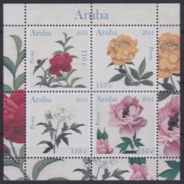 NVPH  541 Bloemen ''Pioenen'' Postfris  2011 A-0879