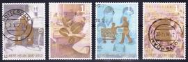 NVPH 2905-2908 Albert Heijn 2012  Gestempeld E-2815