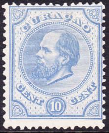 NVPH   4  Koning Willem III  Cataloguswaarde 100,00