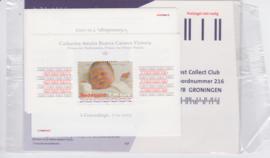 NVPH 5 X BLOK 2243 POSTFRIS AMALIA 2003 IN TOONBANKVERPAKKING SCHAARS !! A-0294