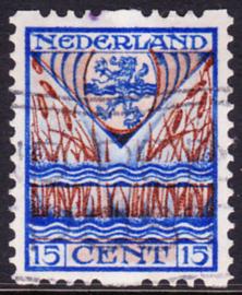 Plaatfout  211 P op Roltanding R81  Gebruikt Cataloguswaarde 100.00++++