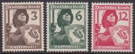 Mi 643-645 Luftschutz Postfris Cataloguswaarde: 15,00  E-2905