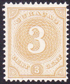 NVPH   16 Cijfer Postfris Cataloguswaarde 35,00