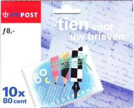 NVPH HB1571-1572 Tien voor uw brieven Cataloguswaarde 15,00