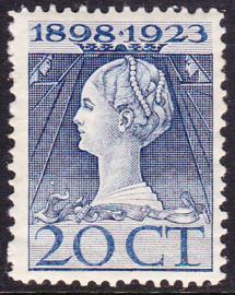 NVPH 125 Regerings Jubileum Postfris Cataloguswaarde 20.00