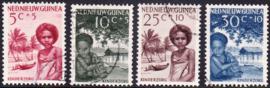 NVPH 45-48  Kinderpostzegels gestempeld